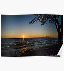 The Beauty of Lake Erie Poster