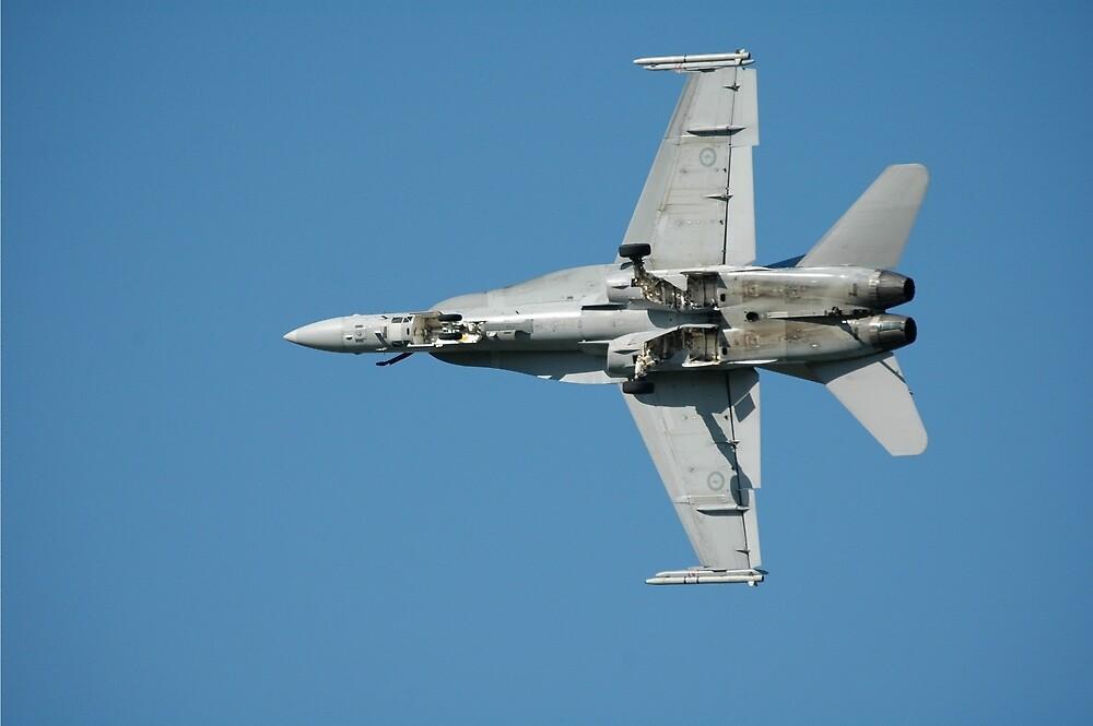 RAAF Hornet @ Amberley Airshow, Australia 2008 by muz2142
