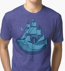 Whaleship Tri-blend T-Shirt