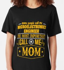 MICROELECTRONICS ENGINEER BEST COLLECTION 2017 Slim Fit T-Shirt