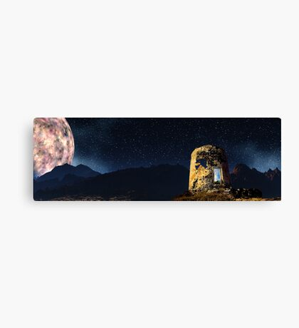 Inifers Tower - Otherworldly. Canvas Print