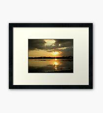 ripple Framed Print
