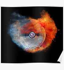 Pokemon water vs fire Poster