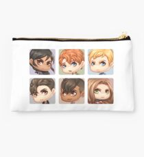 Six of Crows Collage Studio Pouch