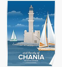 The Egyptian Lighthouse, Chania (GR) Poster