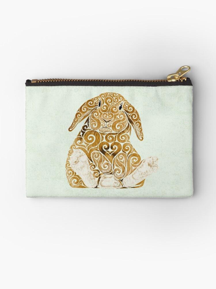Swirly Bunny by . VectorInk
