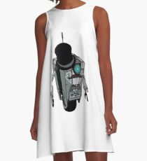 Fancy Claptrap A-Line Dress