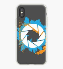 Portal - Abstract Aperture Logo iPhone Case