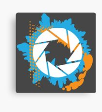 Portal - Abstract Aperture Logo Canvas Print