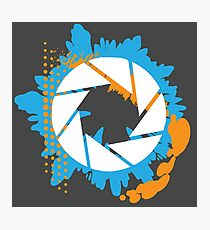 Portal - Abstract Aperture Logo Photographic Print