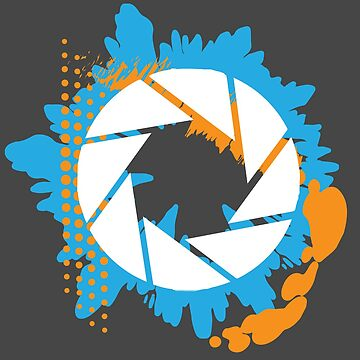 Portal - Abstract Aperture Logo by Sgurf