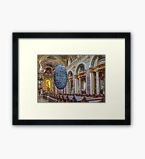 Jesuitenkirche, Vienna Austria Framed Print