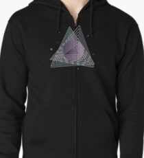 Ceres abstract space Zipped Hoodie