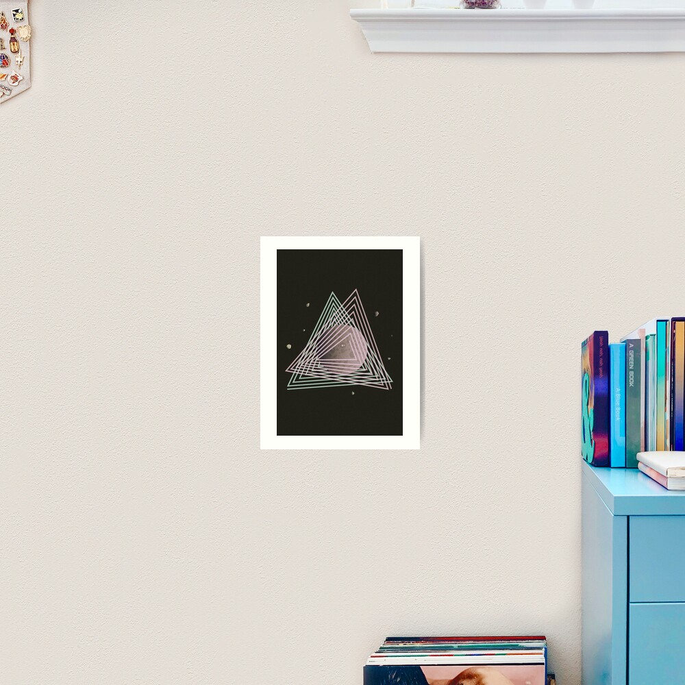 Ceres abstract space Art Print