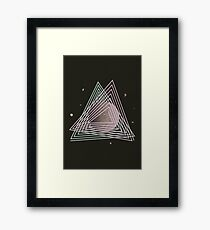 Ceres abstract space Framed Print