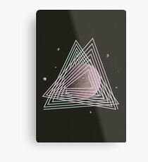 Ceres abstract space Metal Print