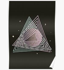Ceres abstract space Poster