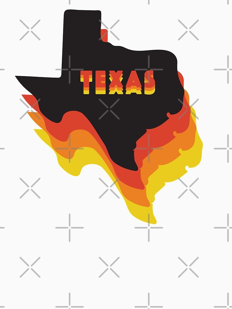 Retro Texas by doodlebymeg