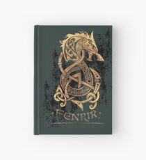 Cuaderno de tapa dura Fenrir: El lobo del monstruo nórdico