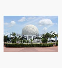 Fountain of Nations - Epcot Photographic Print