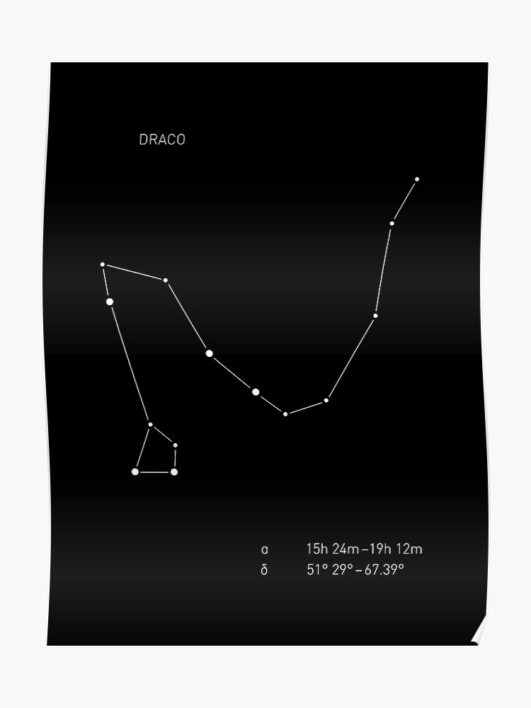Draco Constellation | Poster