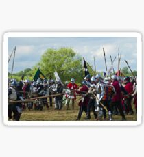 Battle of Tewkesbury Re-enactment 2017, Gloucestershire, England Sticker