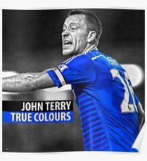 JOHN TERRY TRUE COLOURS  Poster