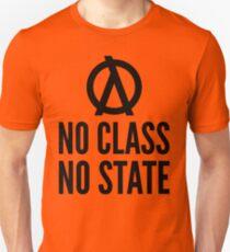 No Class No State Functional Programmer Black Text Design Unisex T-Shirt