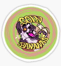 Goin Bananas Sticker