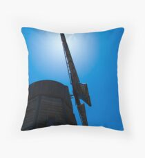 Old Windmill Nova Scotia Throw Pillow