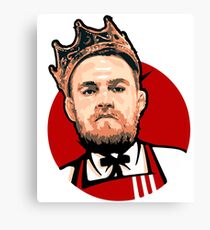 Connor McGregor is king Canvas Print