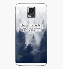 """""""The World is Big"""" Travel Quote Case/Skin for Samsung Galaxy"""