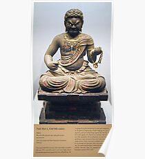 Statue of Japanese Deity Fudō Myō-ō Poster