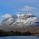 Liatach and Loch Clair by Maria Gaellman