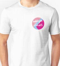 Bubblegum Wall Princess Unisex T-Shirt