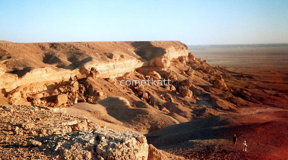 Towqi Escarpment by cometkatt
