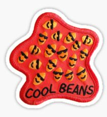 Cool beans patch Sticker