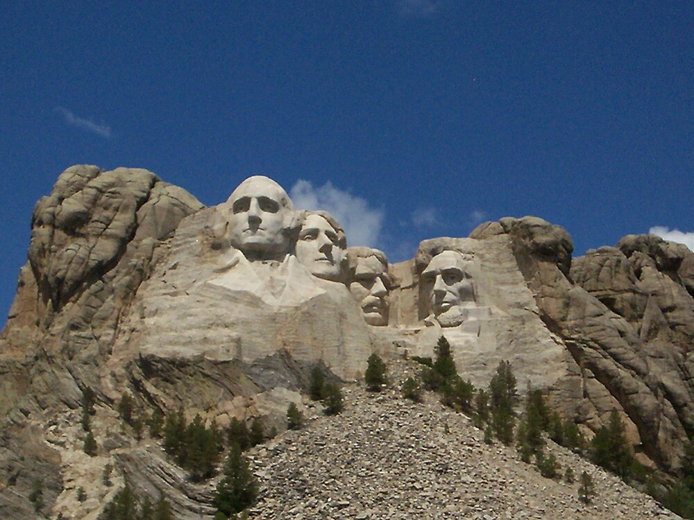 mt. rushmore by Ellaine Walker