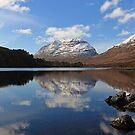 Liathach Reflections in Loch Clair by Maria Gaellman