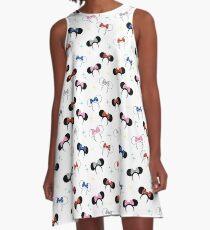 Magical Polka Dot Ears A-Line Dress