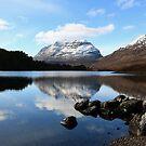 Loch Clair Reflections by Maria Gaellman