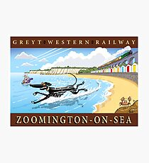 Greyt Western: Zoomington-on-sea Photographic Print