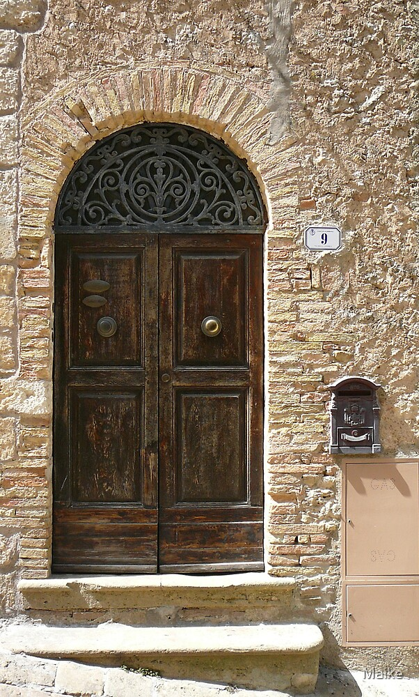 Tuscan door- Tuscan Door collection by Maike