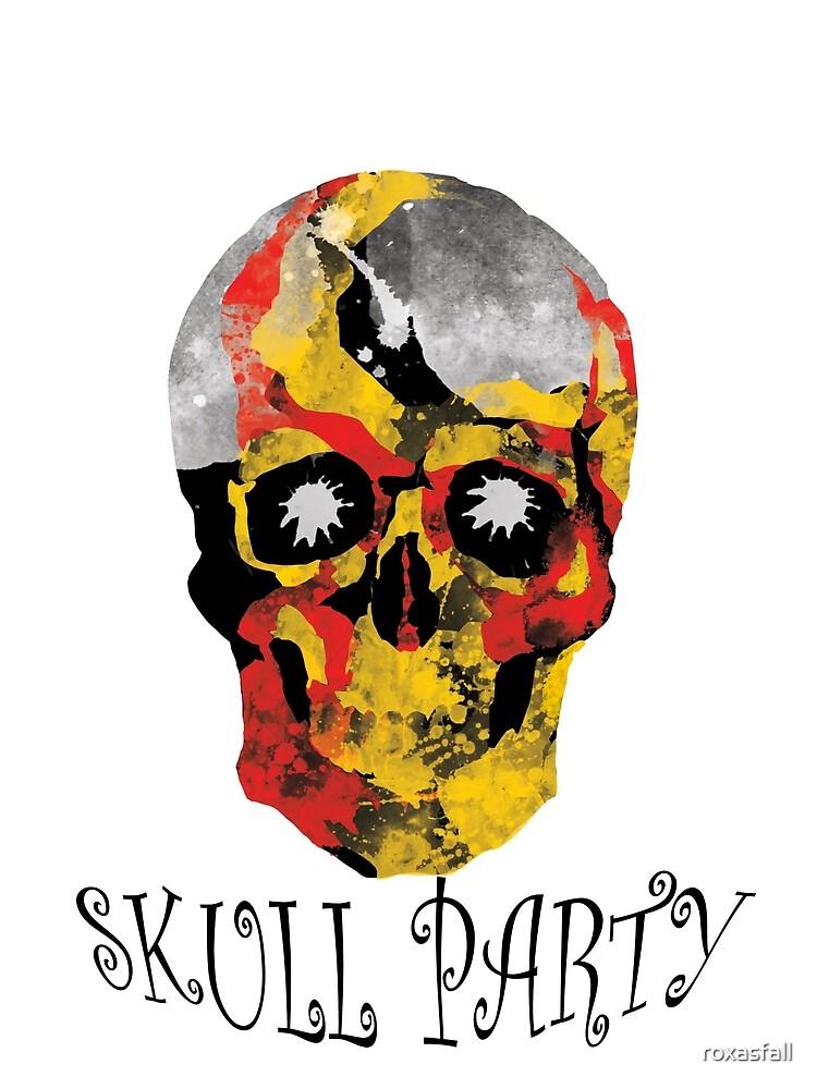 Skull Party by roxasfall