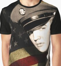 Elvis Presley in the army Graphic T-Shirt