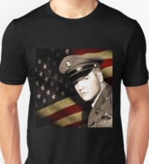 Elvis Presley in the army T-Shirt