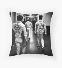 Backstage Throw Pillow