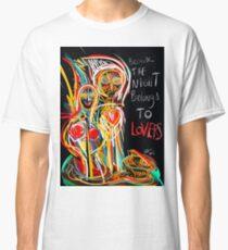 Because the night street art graffiti Classic T-Shirt