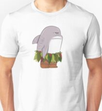 Funny Shark Head Maui Unisex T-Shirt