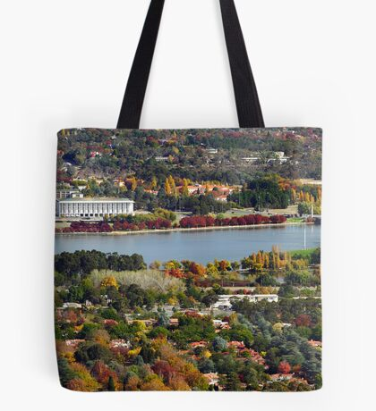 Canberra during autumn Tote Bag
